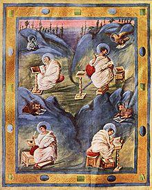 Representación cuatro evangelistas