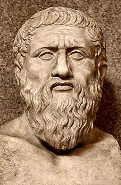 Platón  (427 a. C. / 345 a. C.) Wikipedia