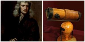 Isaac Newton / Telescopio reflector