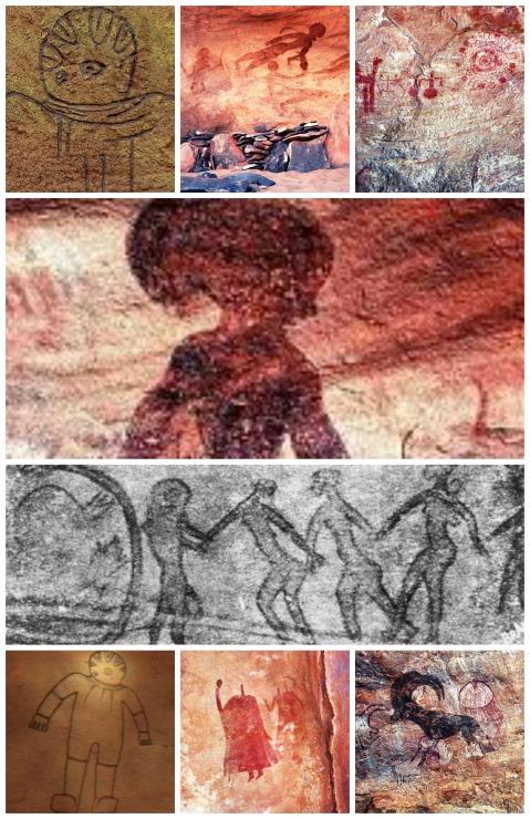 Collage Tassili ptersem