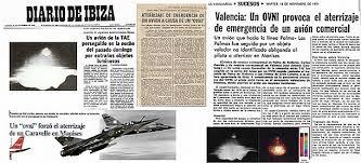 Titular Diario Ibiza sobre el incidente.