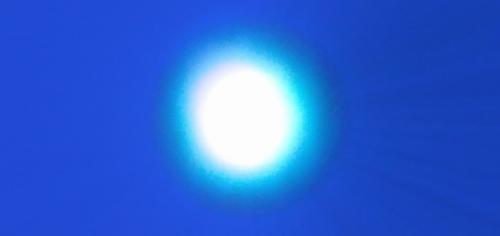 Esfera azul