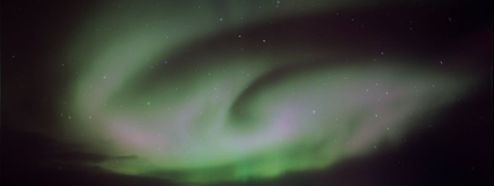 Aurora Boreal en el Ártico