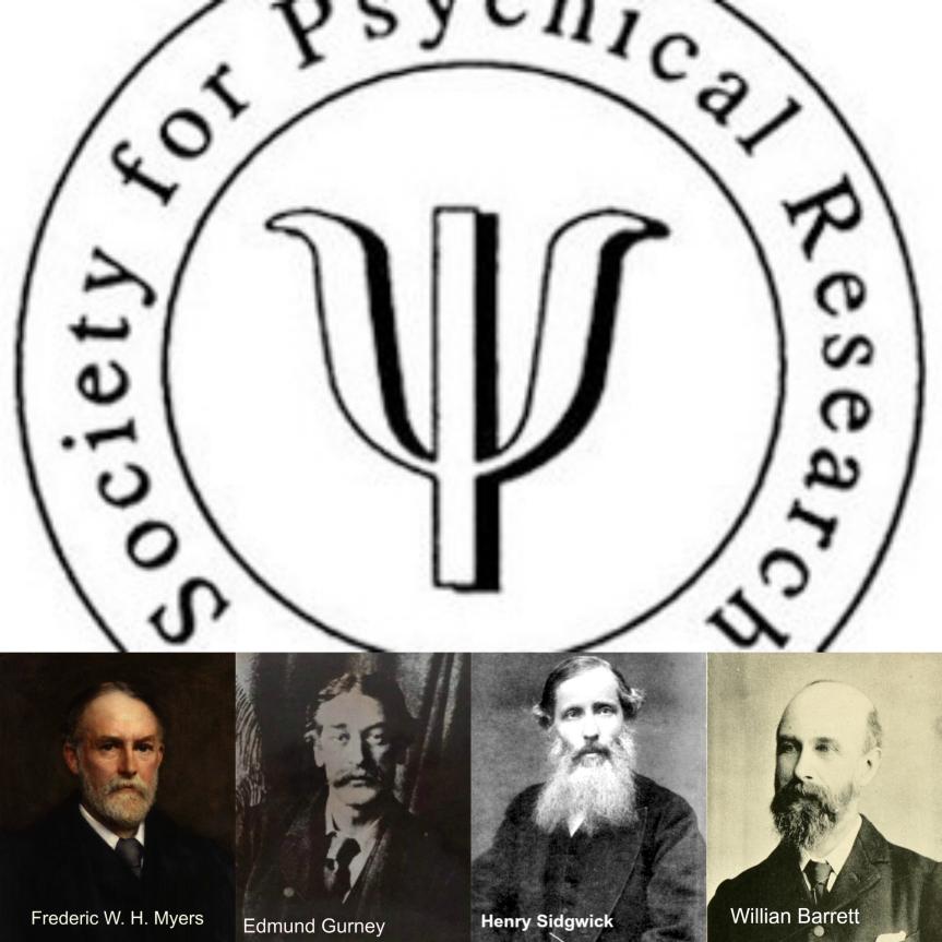 Miembros fundadores de la Society for Psychical Research (Inglaterra 1882)
